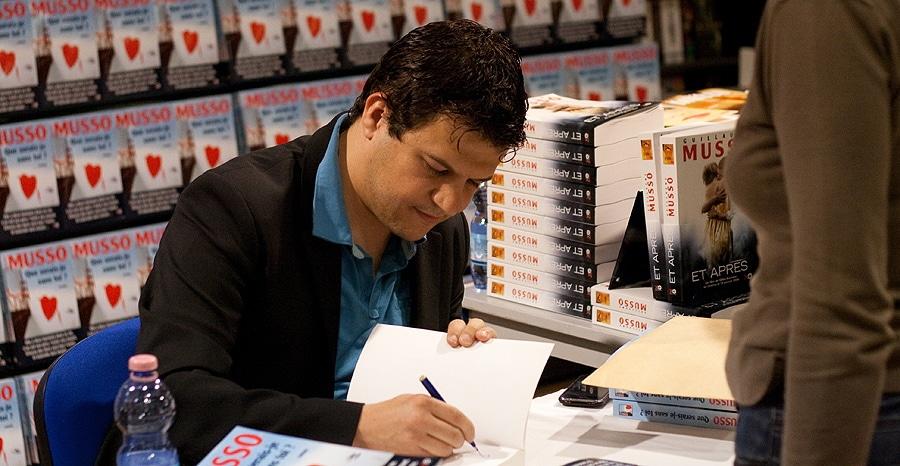 L'auteur français Guillaume Musso