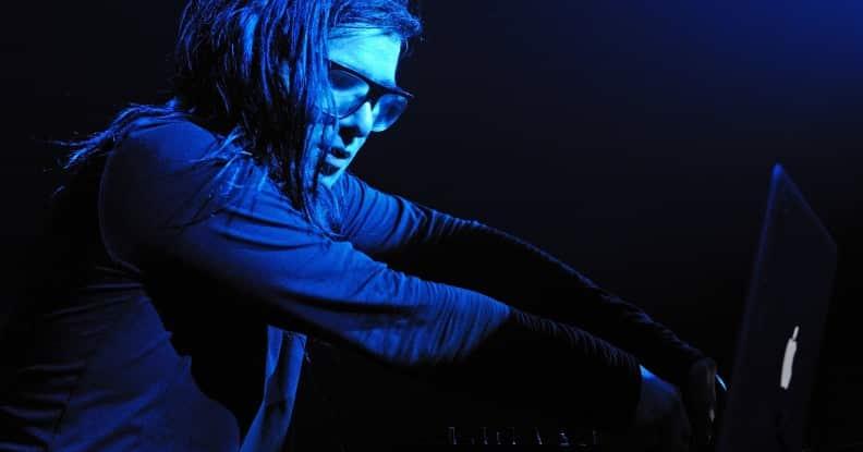 dj skrillex mix sonar 2015