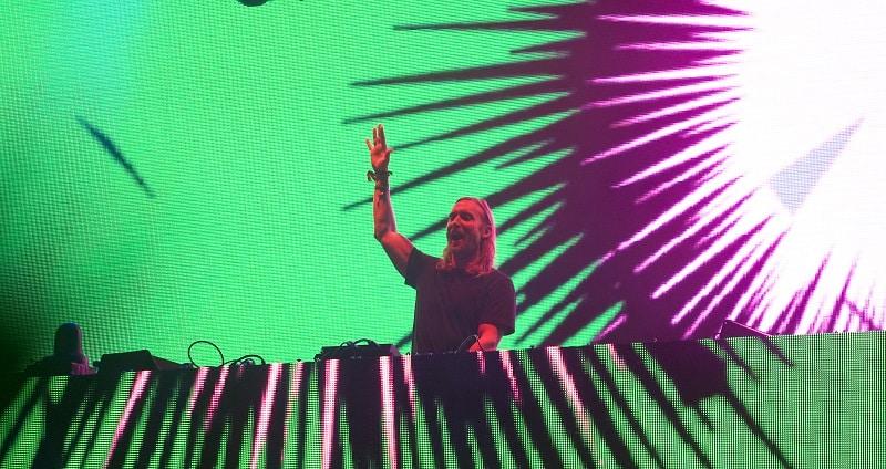 David Guetta et Hardwell au Barcelona Beach Festival