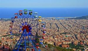 Tibidabo-Barcelone