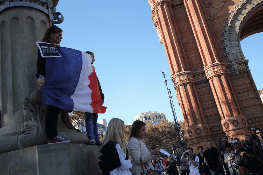 rassemblement attaques paris barcelone