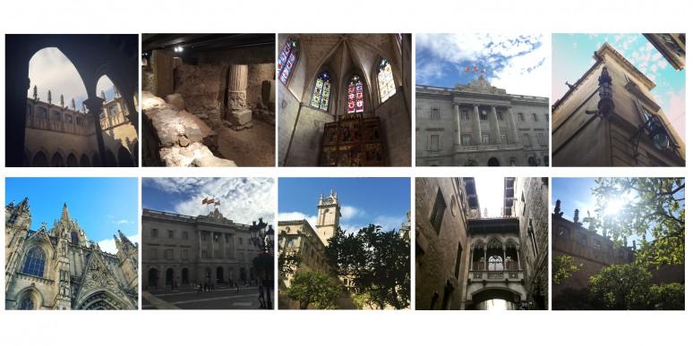 gotic quartiers visiter barcelone