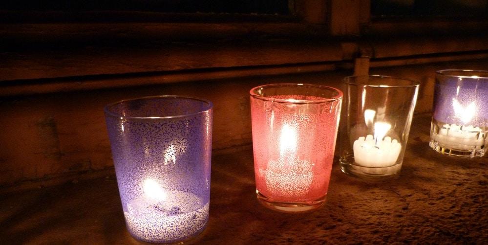 bougies fenetres barcelone