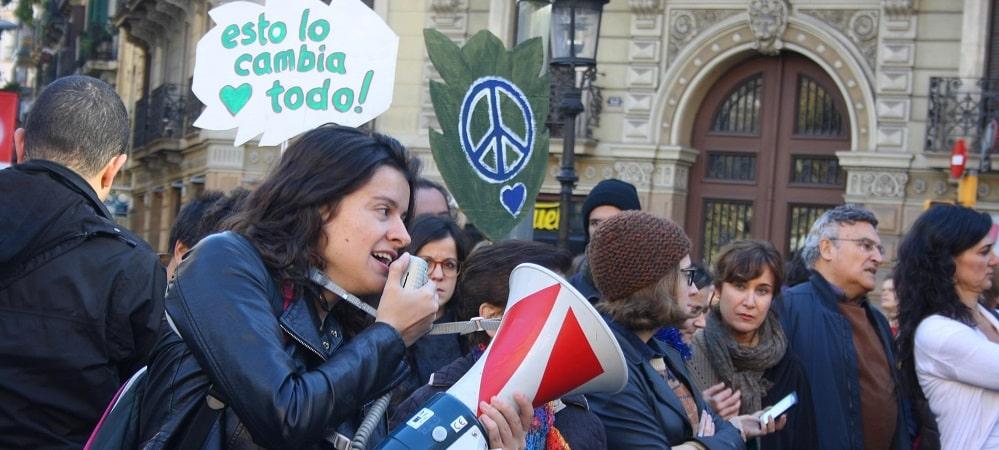 barcelone marche cop21 climat