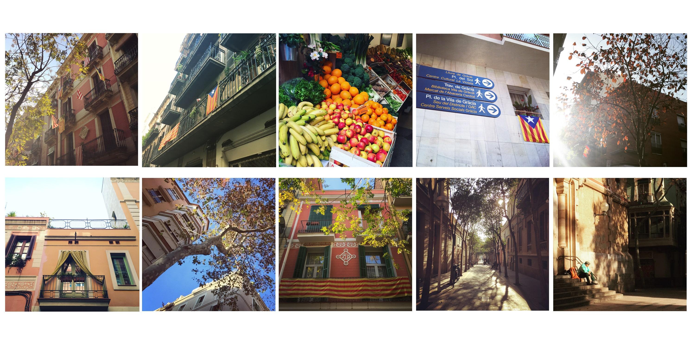 Barcelone en quartiers : Gràcia