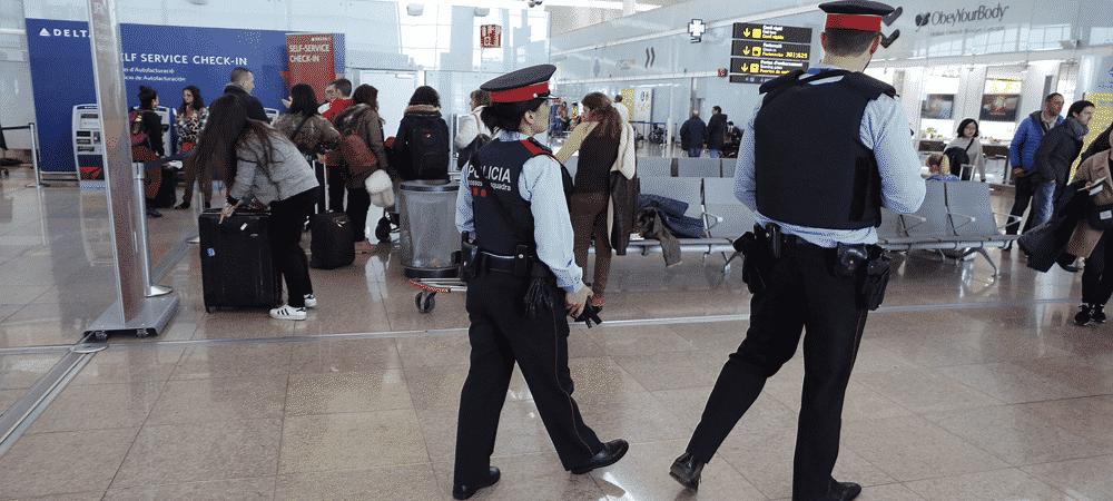 police barcelone attentats