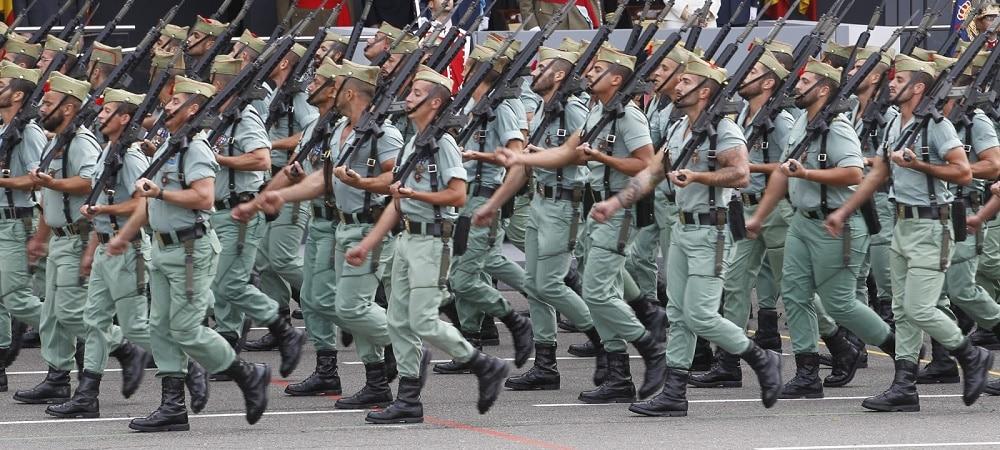 defile militaire