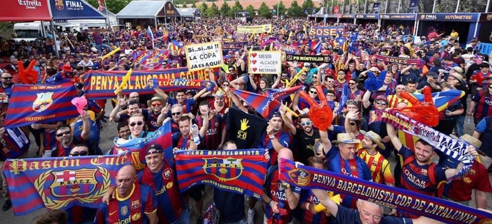 supporters barça