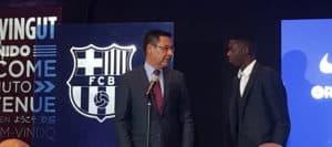 """Dembélé avait """"hâte d'arriver à Barcelone"""""""