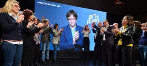 meeting puigdemont video conference