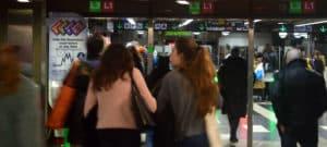 le metro de barcelone