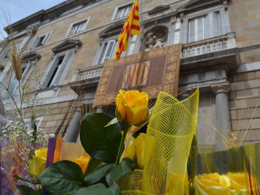 Les plus belles photos de la Sant Jordi à Barcelone