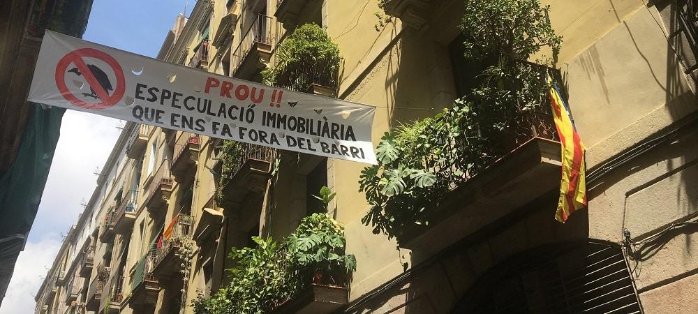 spéculation immobilière raval barcelone