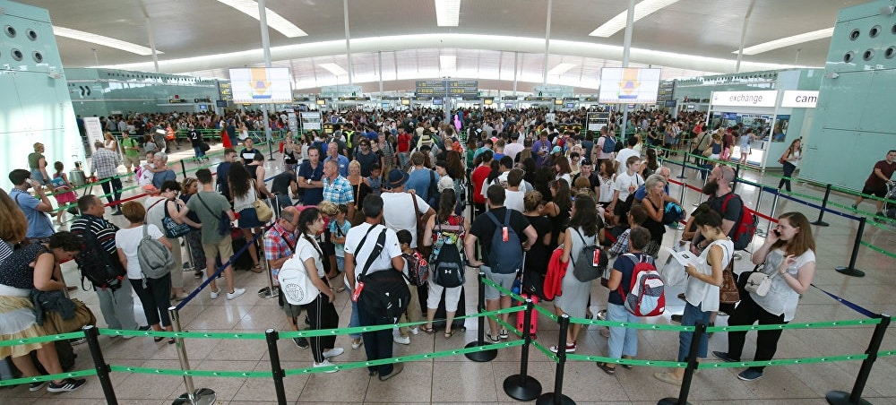 greve barcelone aeroport
