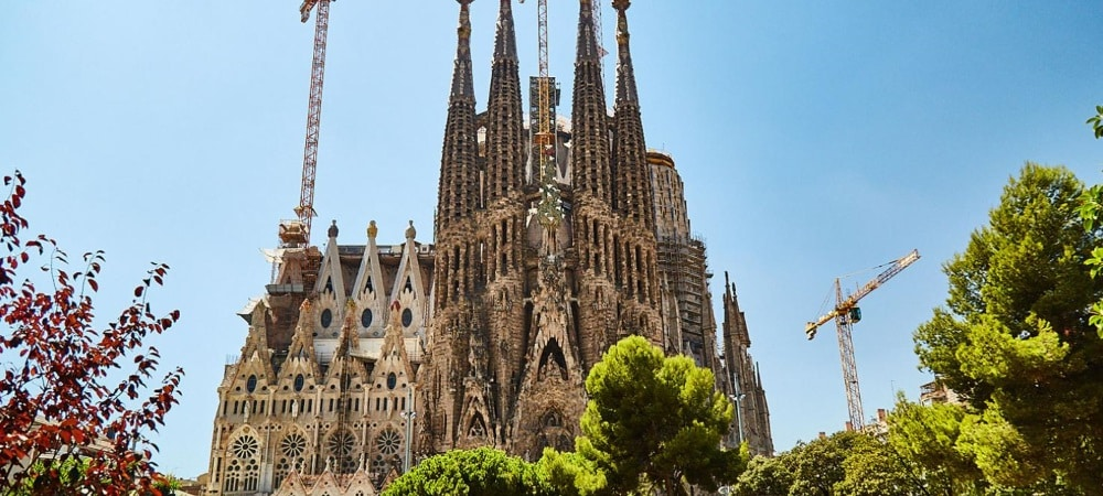 [VIDEO] Un ascenseur transparent pour la Sagrada Familia