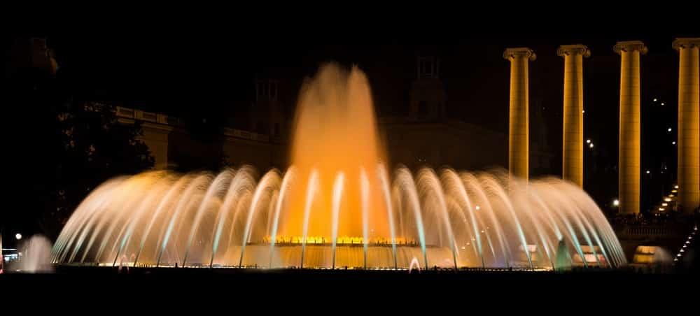 fontaines magiques montjuic
