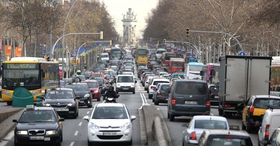 pollution à Barcelone