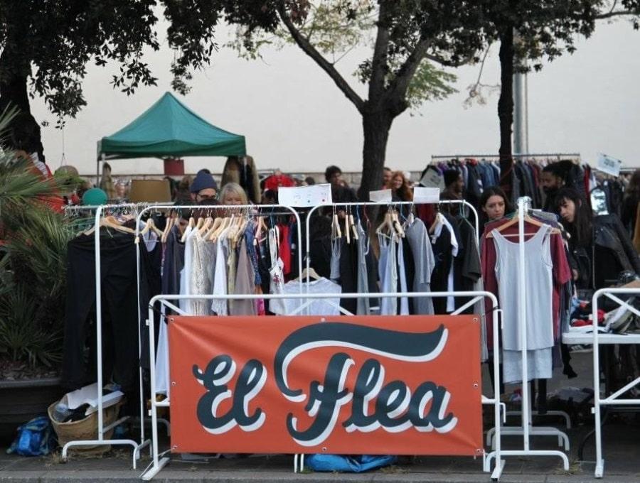 flea market barcelone