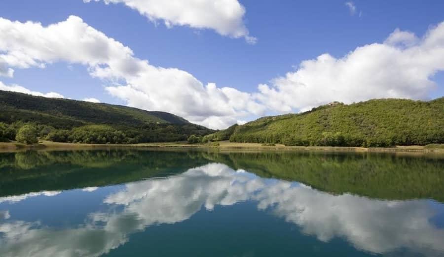 lago montcortés
