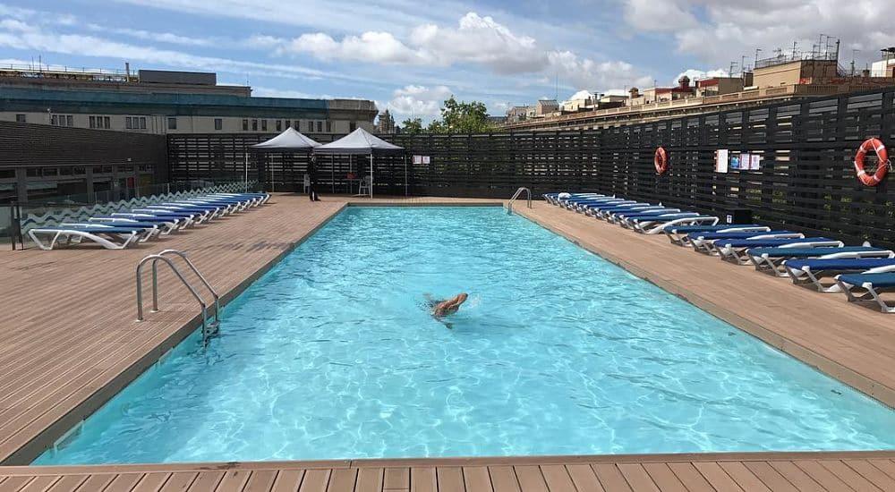 piscines en plein air à Barcelone
