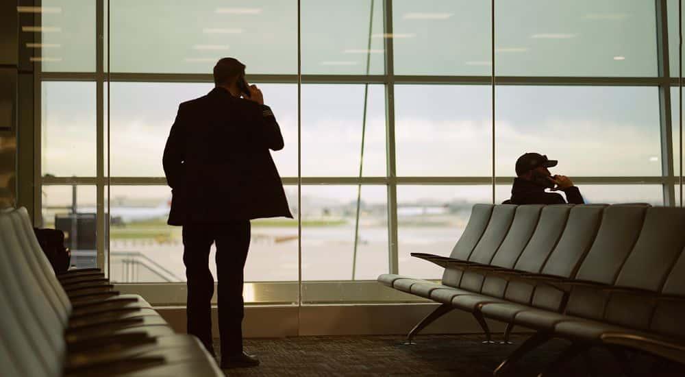 aéroport homme