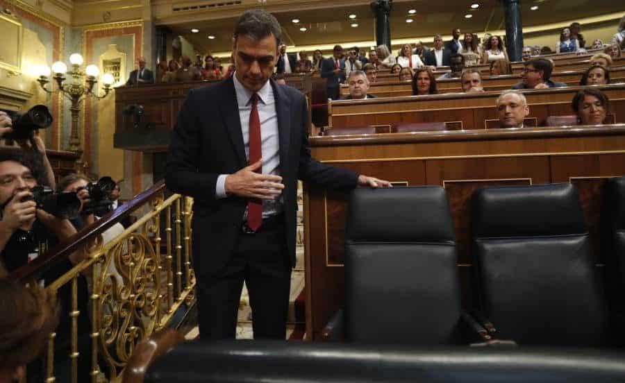 socialiste Pedro Sanchez