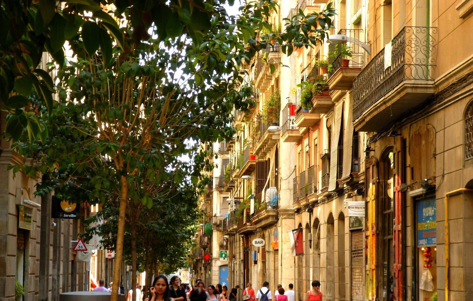 raval quartier barcelone