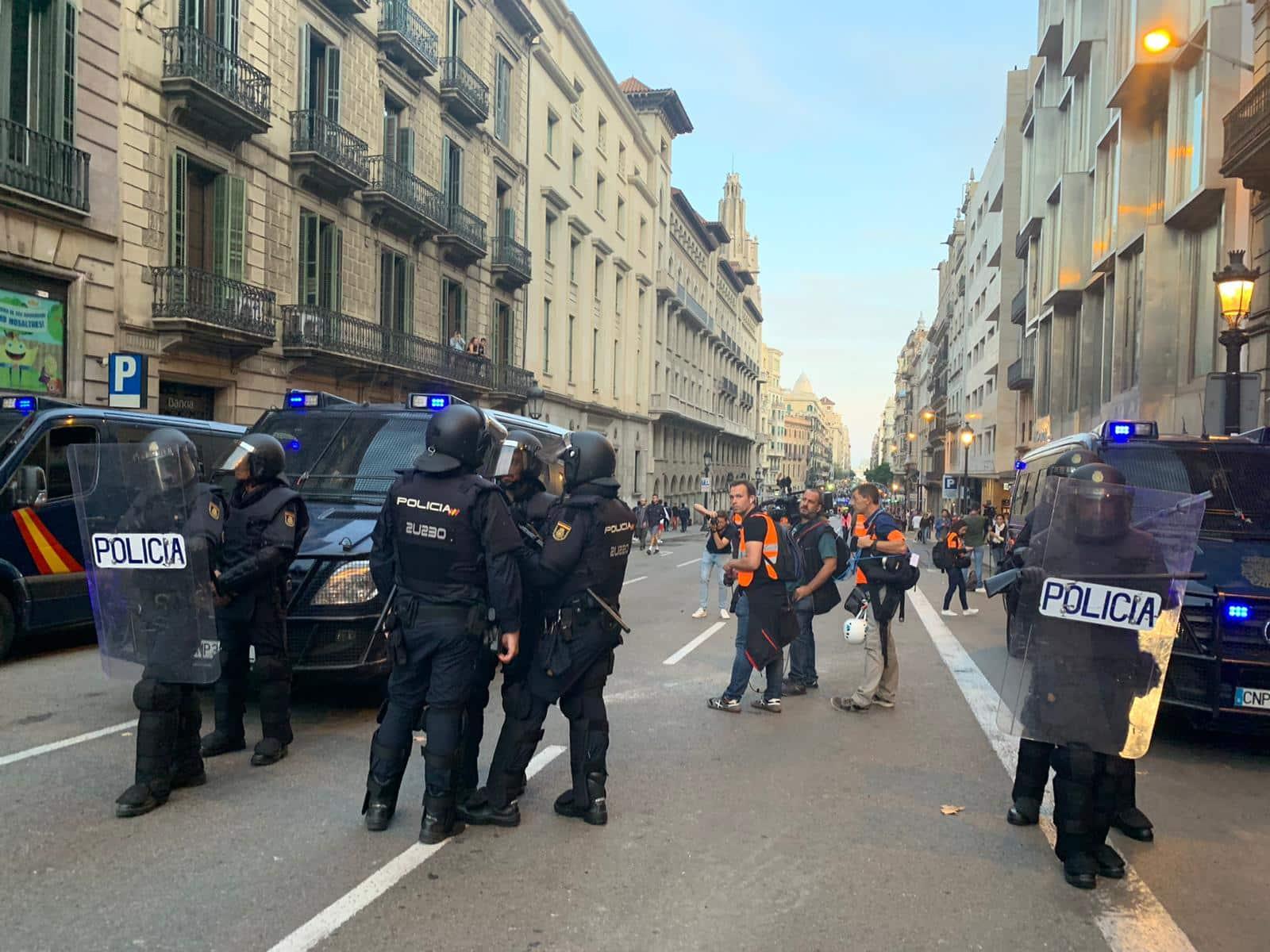 barcelone violences