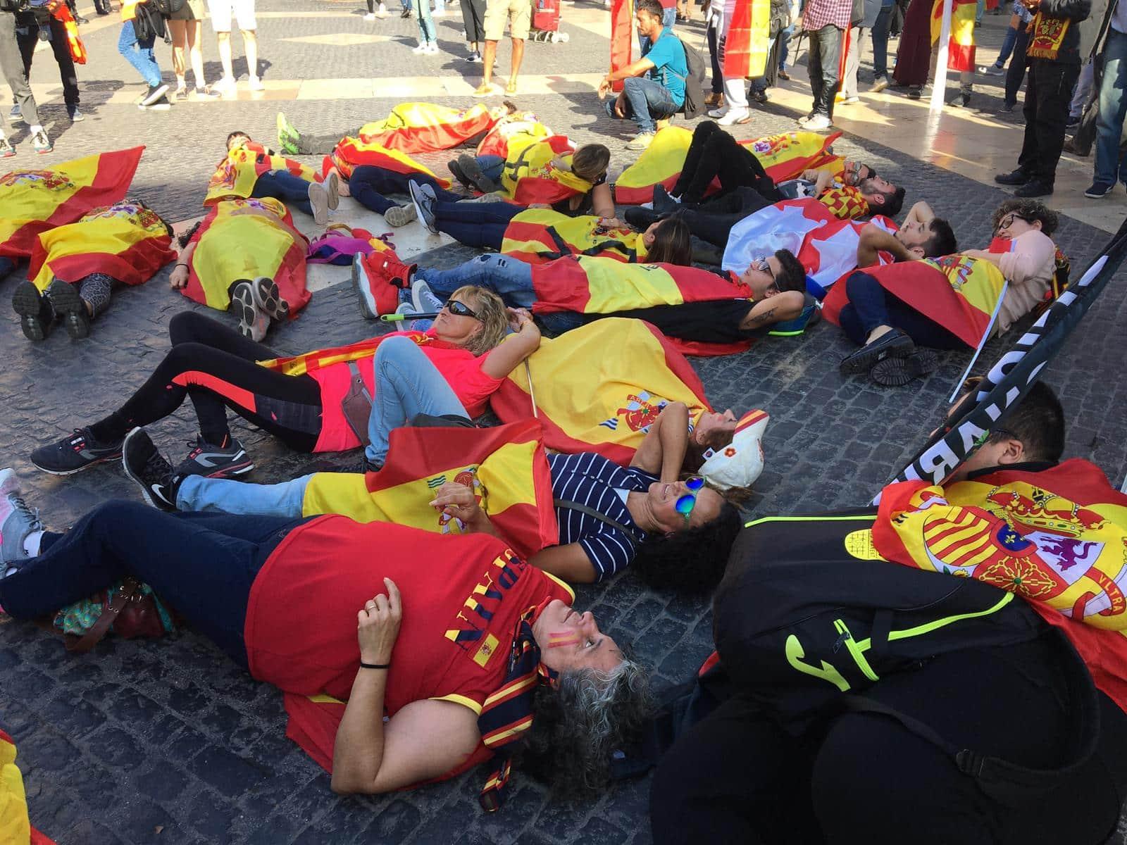 barcelone manifestation