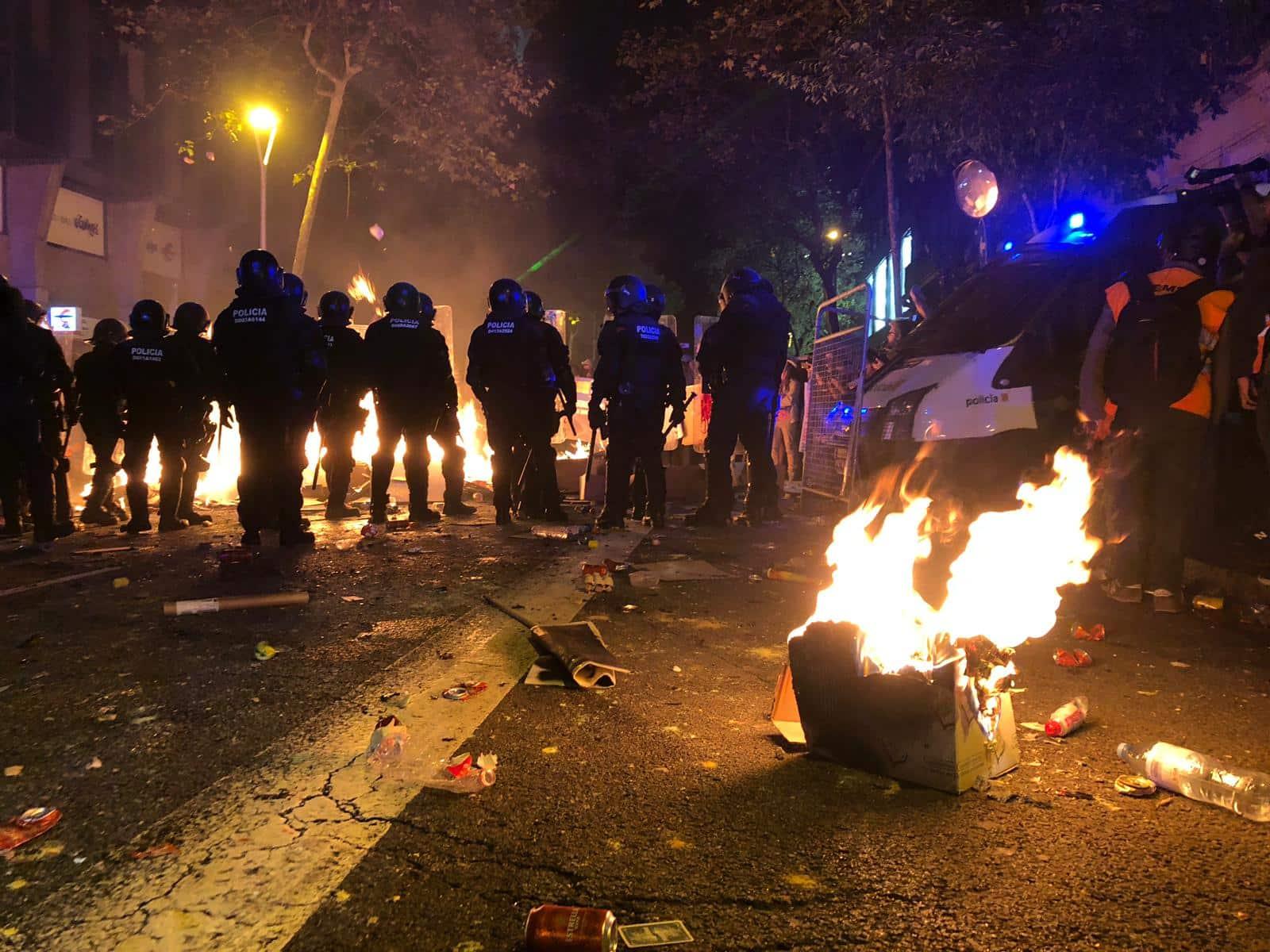 barcelone violence