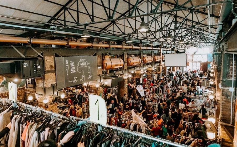 marché vintage poblenou