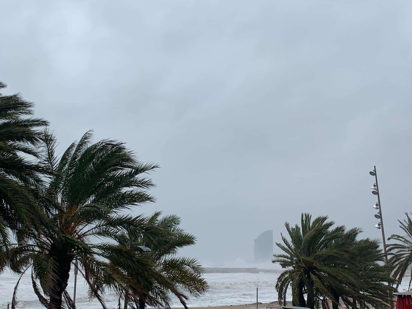 catalogne tempête
