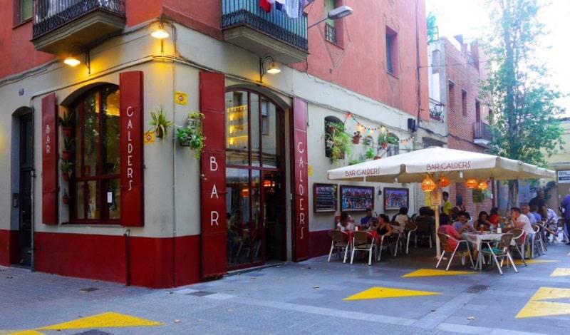 bars calder barcelone