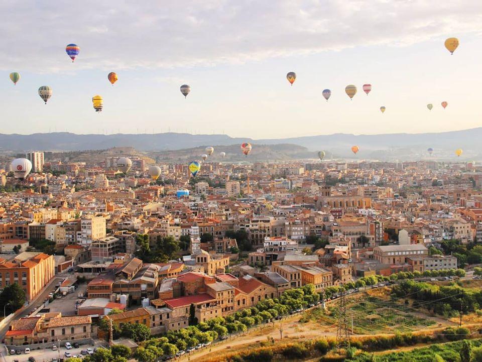 montgolfières catalogne festival