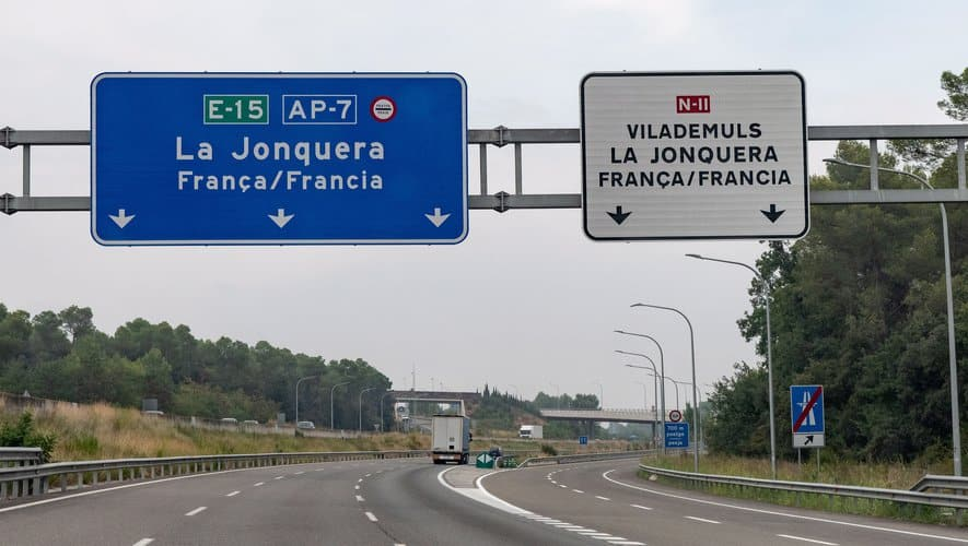 frontiere france espagne