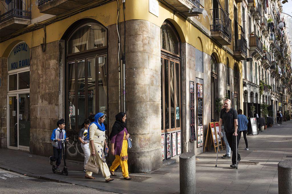 Raval quartier de Barcelone