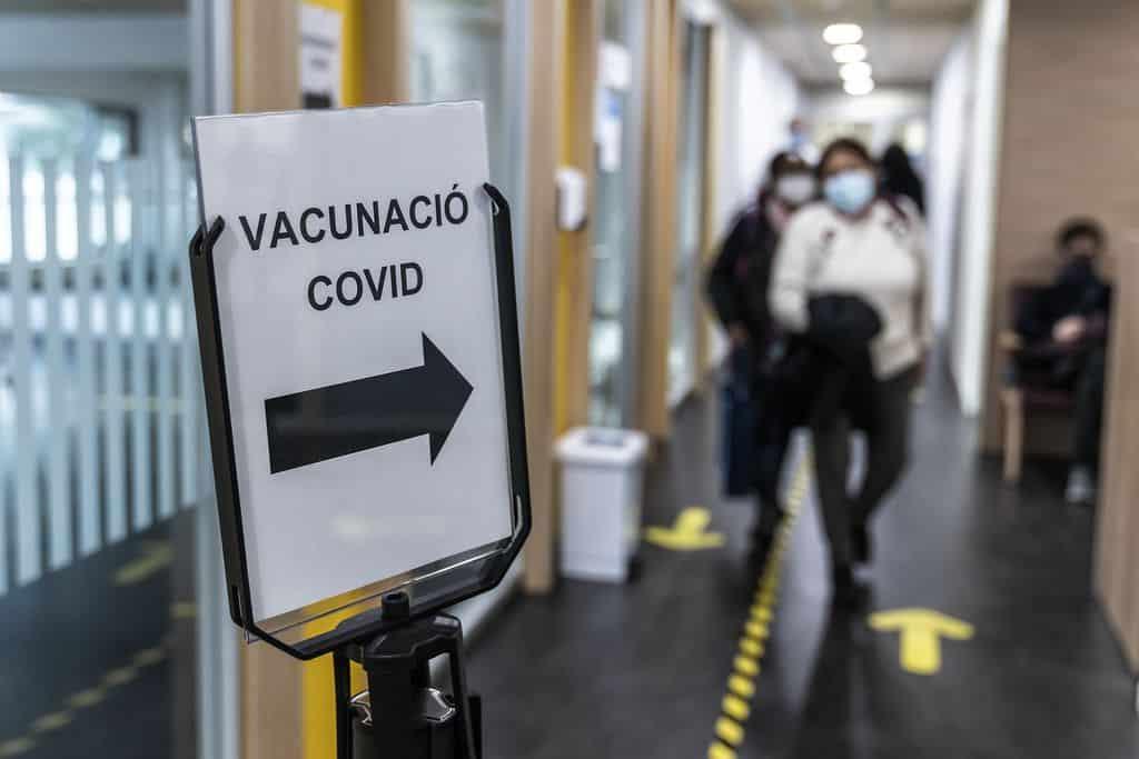 Vaccin Covid Barcelone