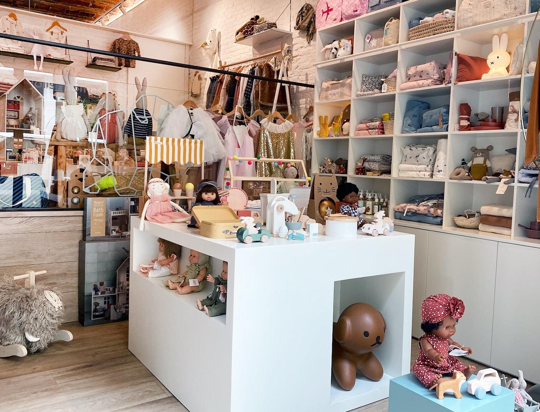 boutiques enfants barcelone