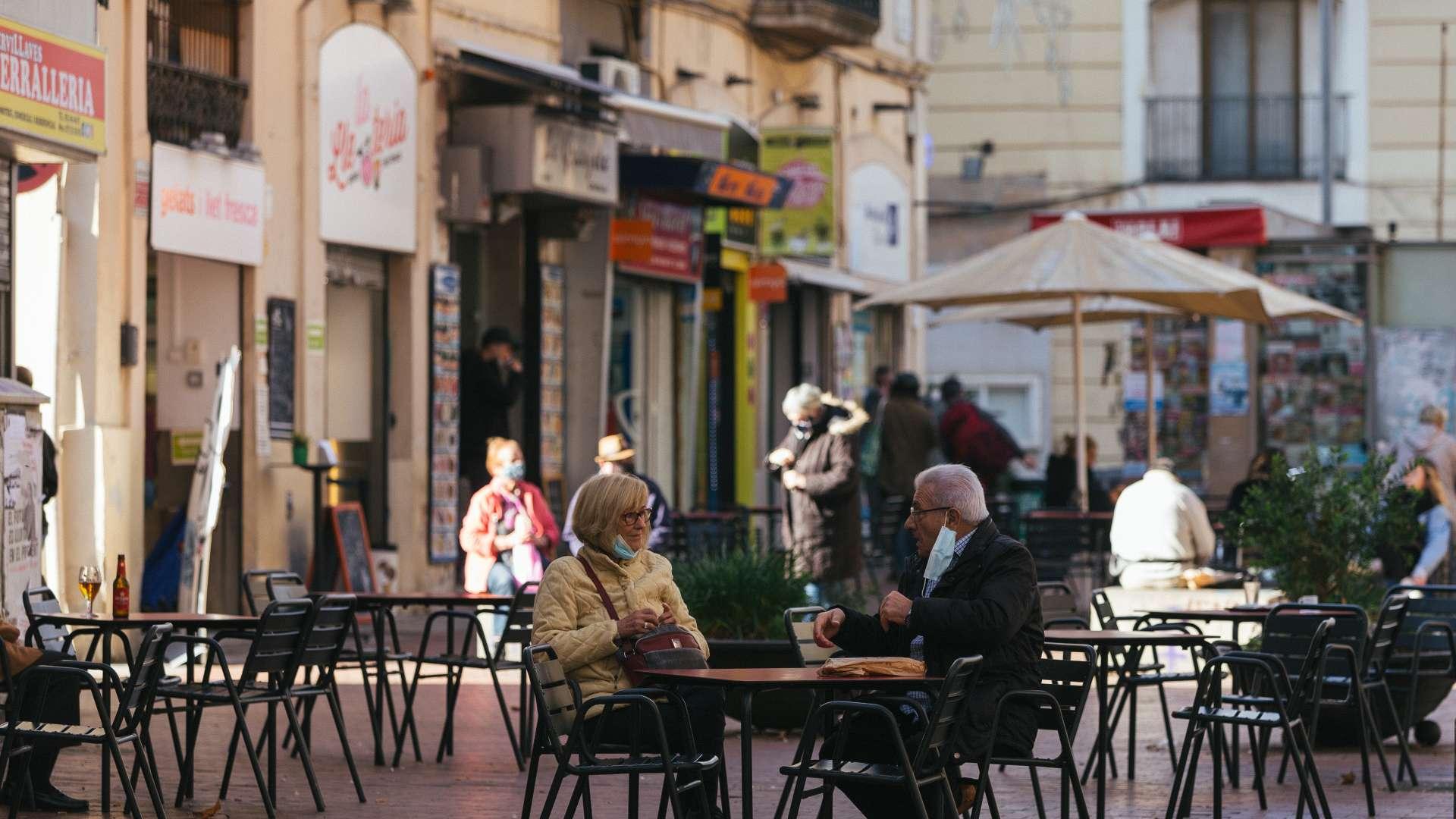 el Clot terrassa restaurant plaça font i sague