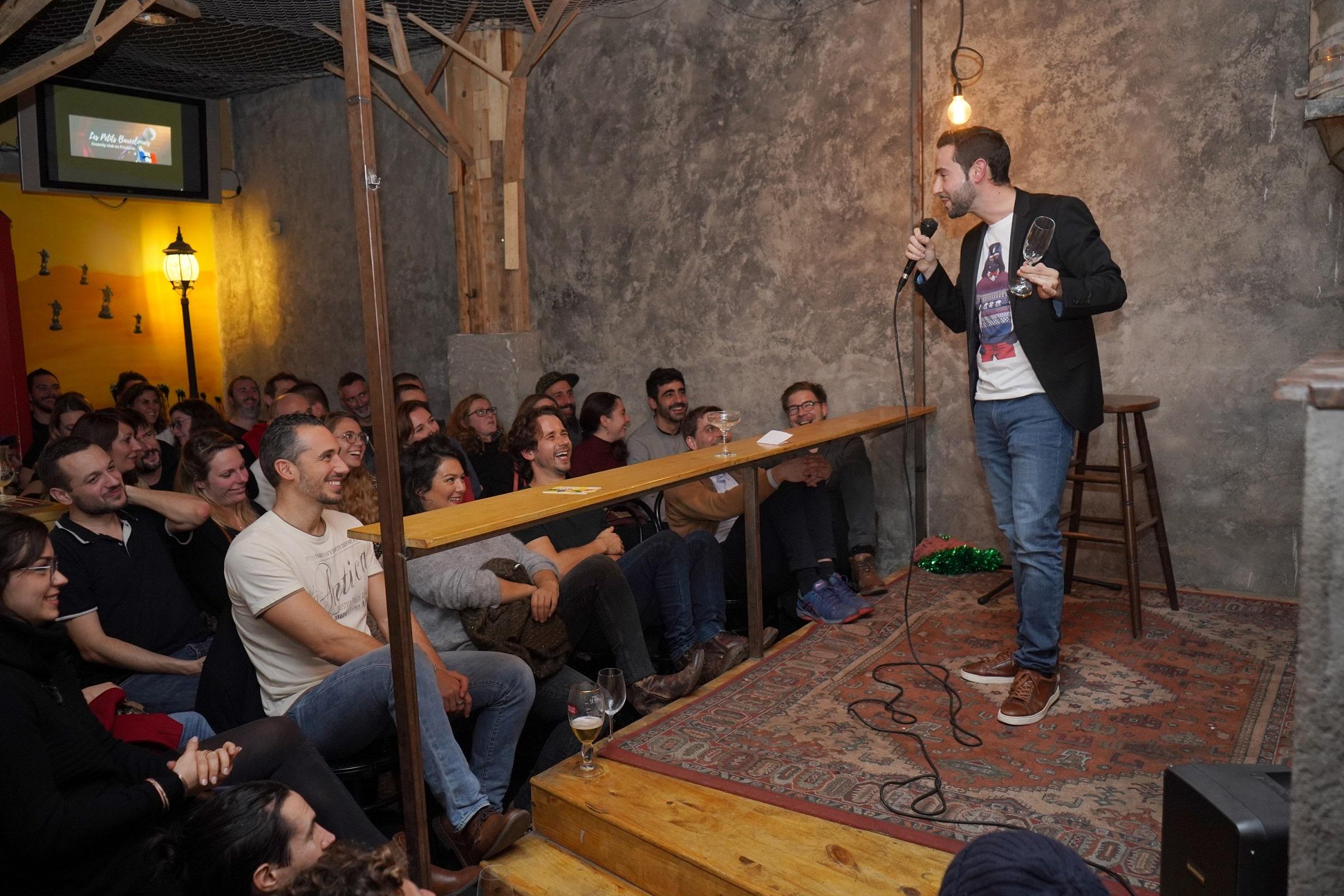 stand-up français barcelone