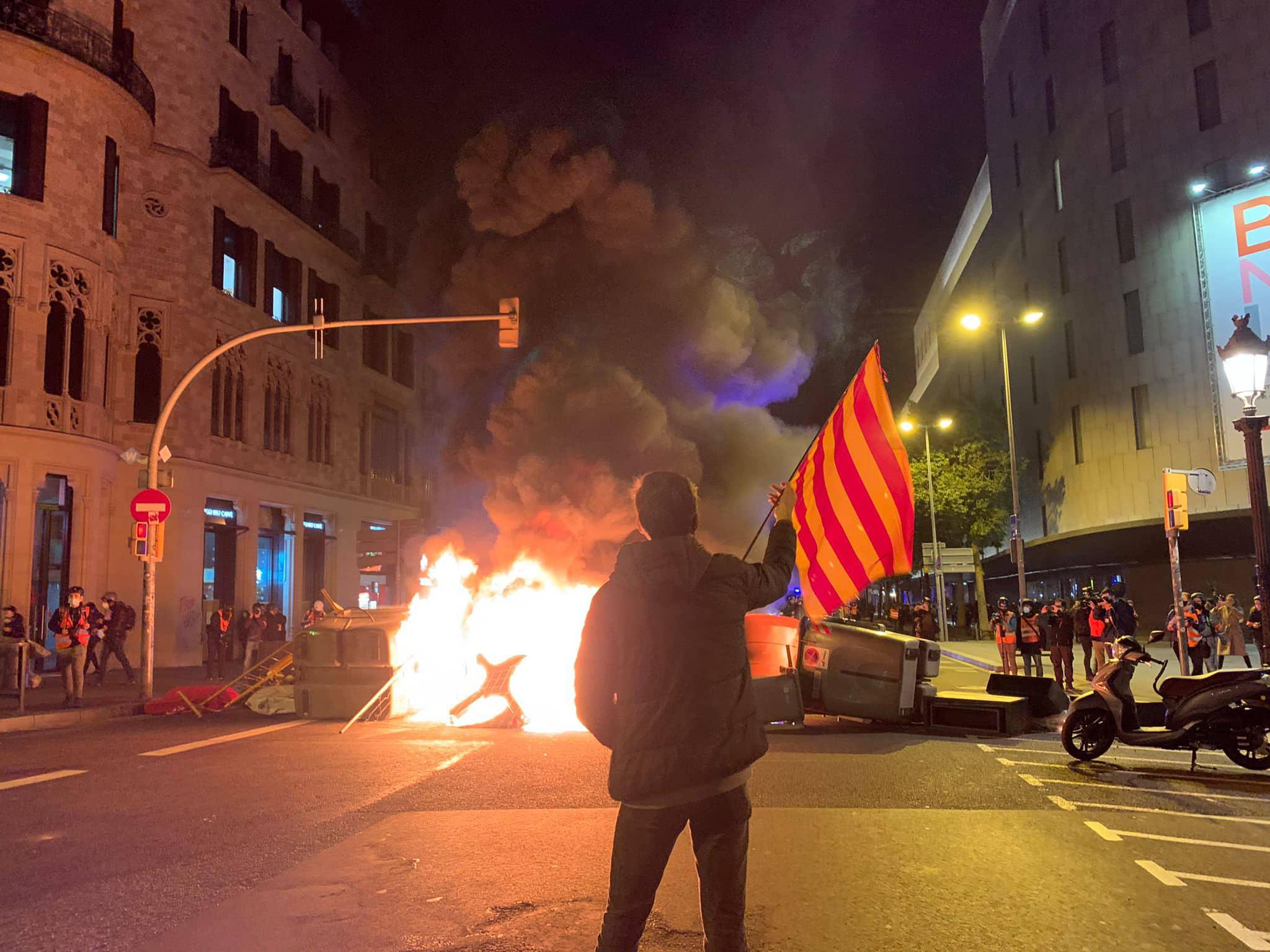 emeutes Barcelone