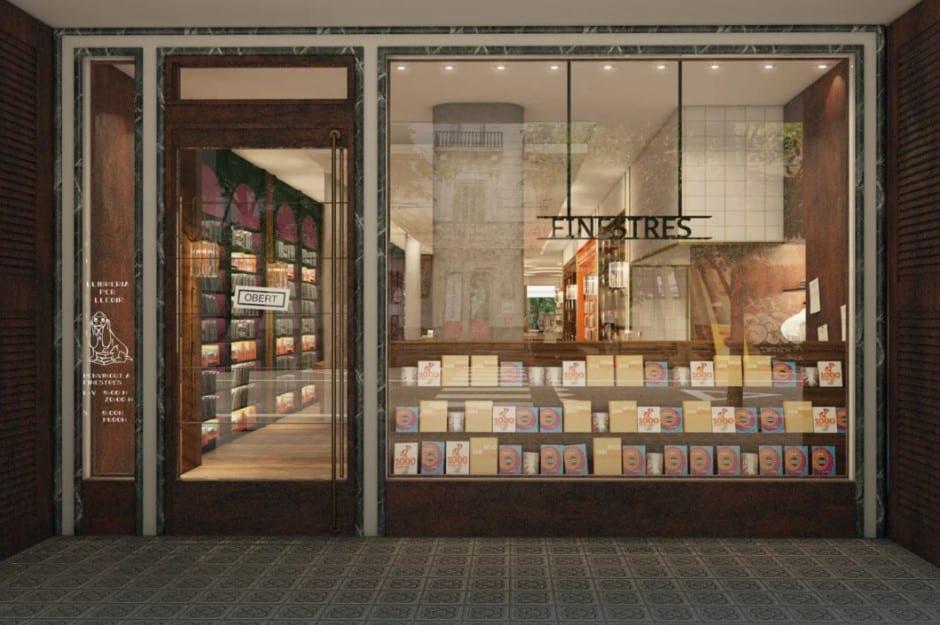librairie barcelone finestres