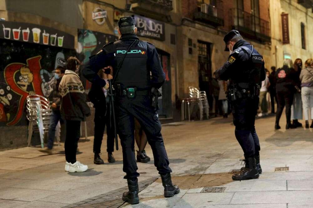 couvre-feu en Espagne