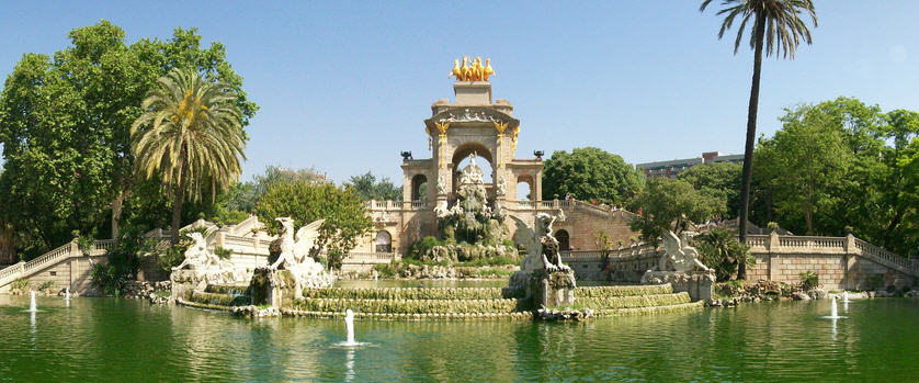 Parc de la Ciutadella de Barcelone