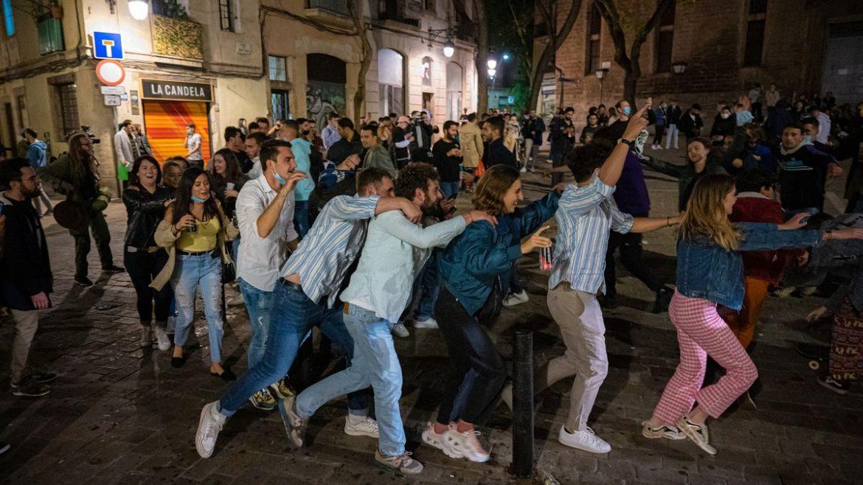 fêtes illégales barcelone