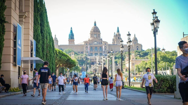 Français à Barcelone