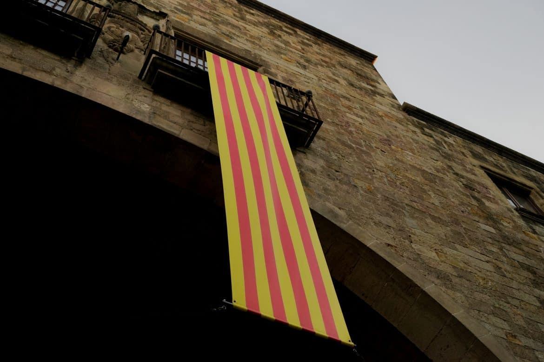 Drapeau catalan Barcelone Clementine Laurent