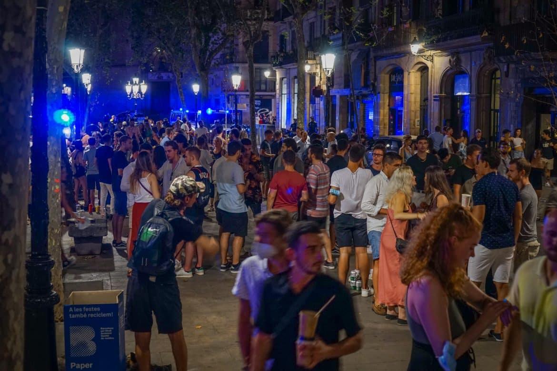 couvre-feu à Barcelone