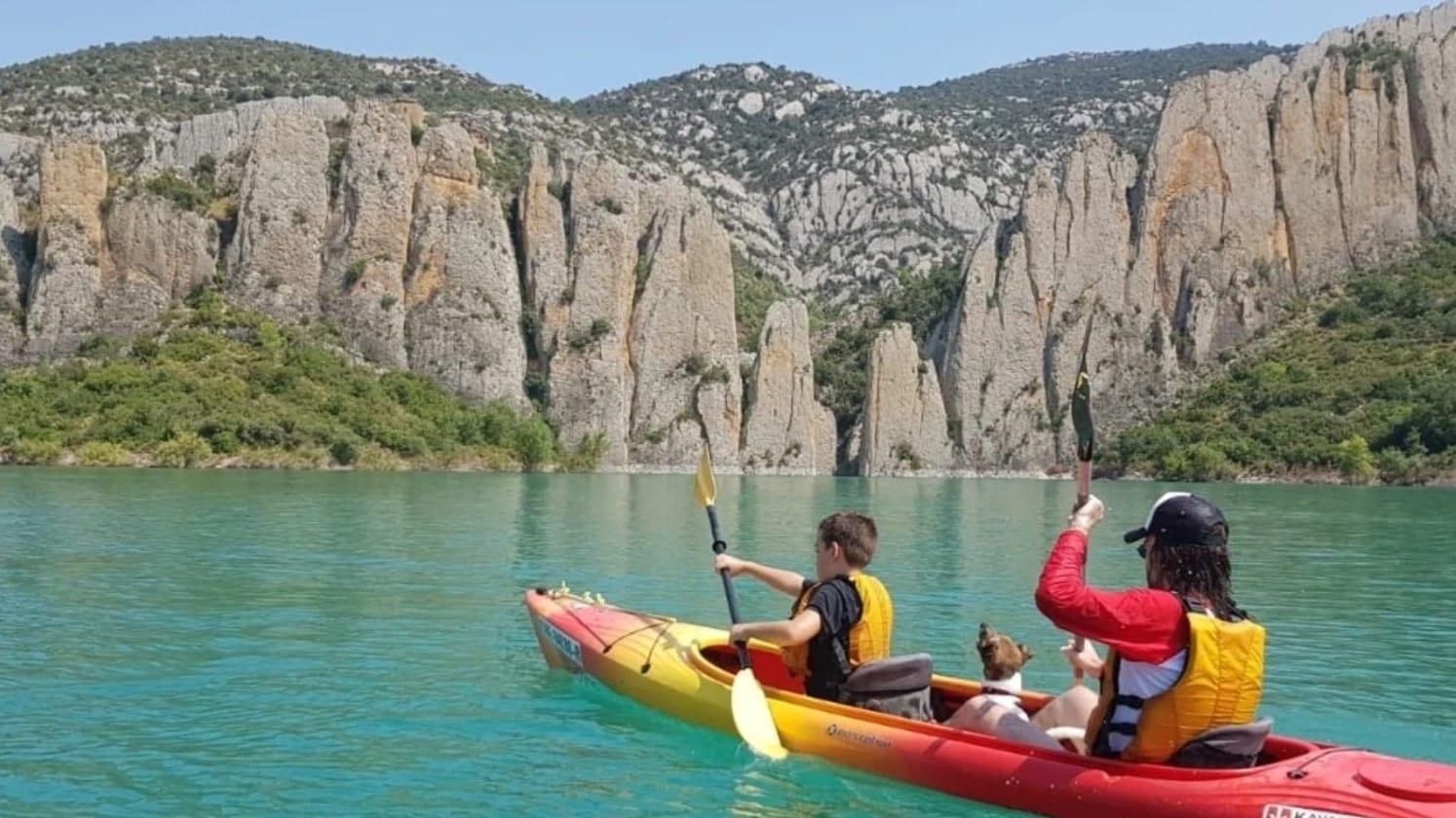 Kayak en Catalogne