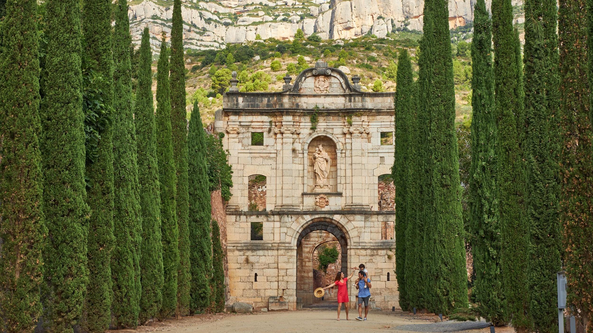 Monastère en Catalogne